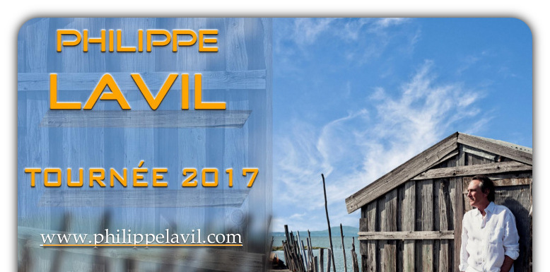 Philippe LAVIL en TOURNEE - www.philippelavil.com